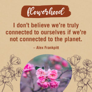 connect to the planet quote